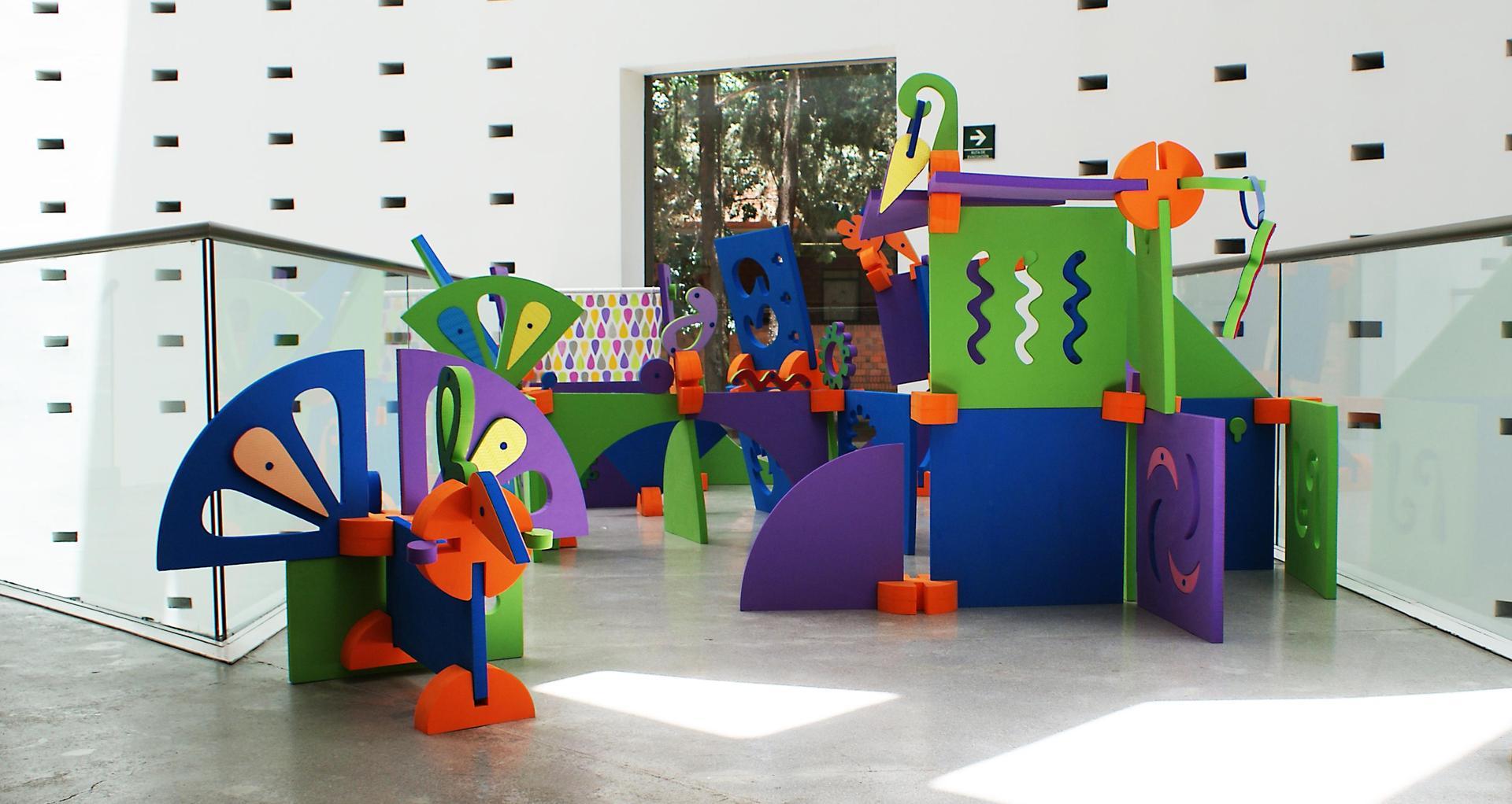 Diseño de espacios juegos y juguetes